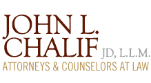 The Law Offices of John L. Chalif J.D., LL.M. logo